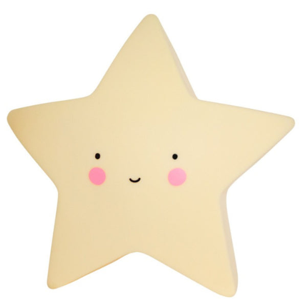 mini star light from little lovely company for kids interiors