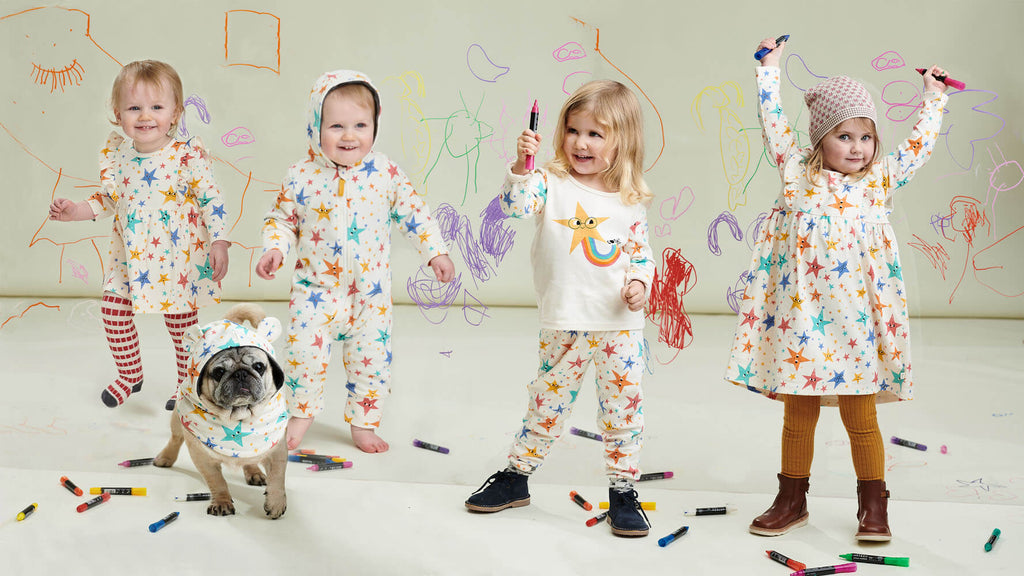aw21 organic and sustainable collection of baby and kids clothes