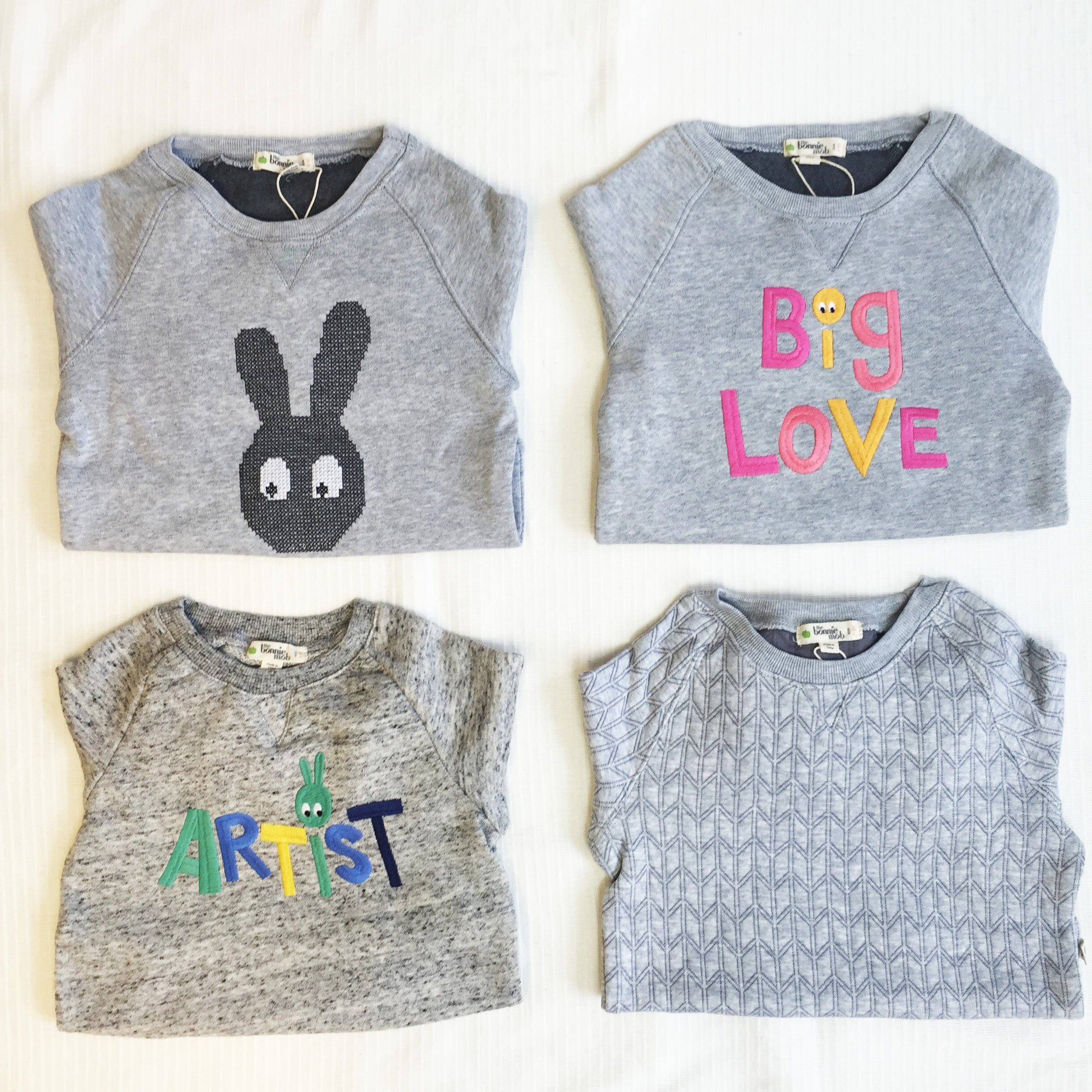 fun grey back to school jumpers for kids
