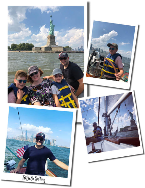 TRIBECA SAILING AROUND NEW YORK WITH KIDS