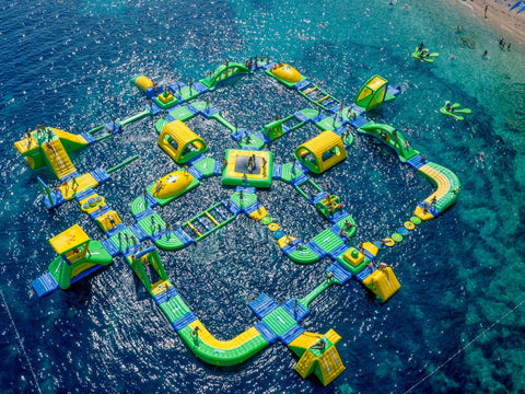 Wibit Sports GmbH- Zlatni Rat in Bol, Croatia, Kids water Park