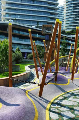 Zorlu Center playground© Oguz Meric