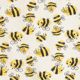 FACEMASK - organic cotton- Bee print