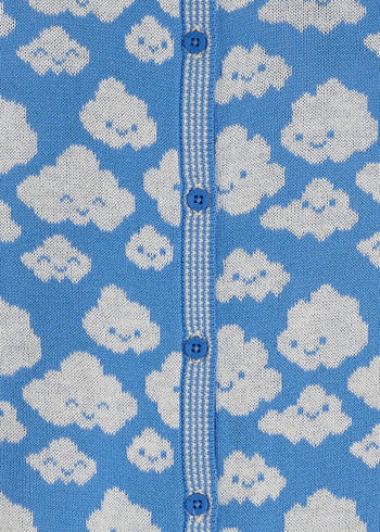 HOLLYWOOD - Kids Cloud Cardigan BLUE - The bonniemob