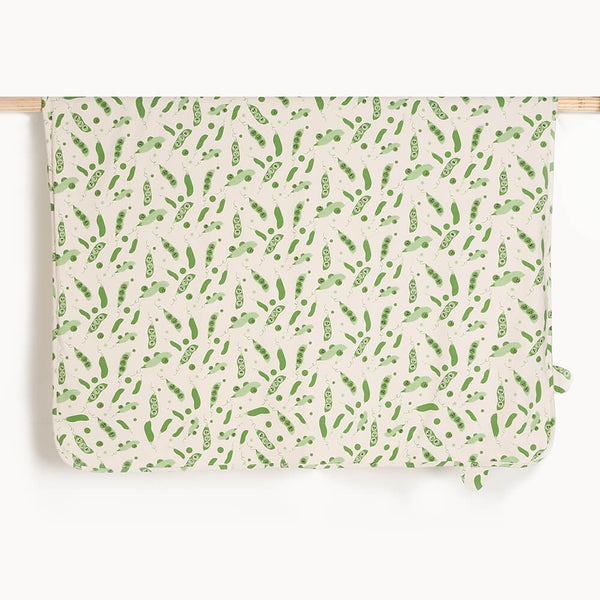 COLE - Baby Blanket With Hood PEA - The bonniemob