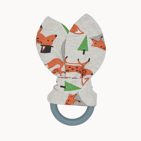 COMFORT - Baby Teething Ring FOX - The bonniemob