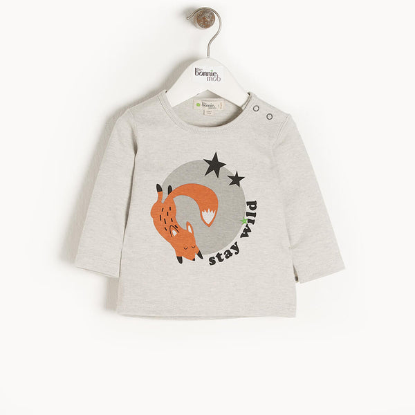 COSMO - Kids T-Shirt  PLACED FOX - The bonniemob