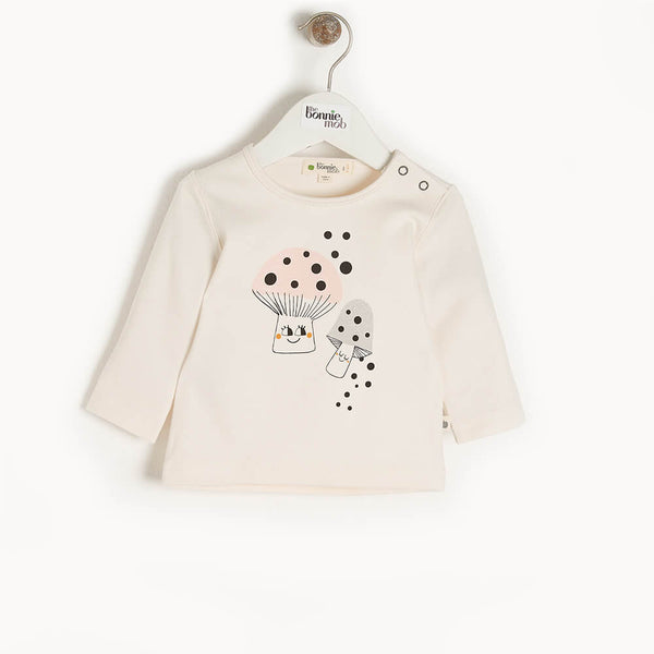 COSMO - Kids T-Shirt  PLACED MUSHROOM - The bonniemob