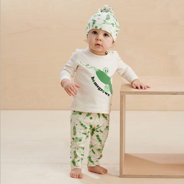COSMO - Baby T-Shirt PLACED PEA - The bonniemob