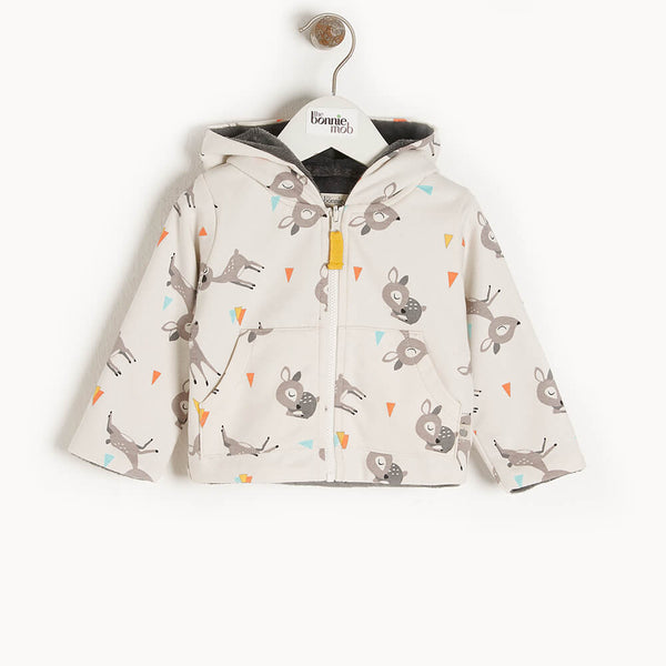DEER - Baby Hoodie DEER - The bonniemob