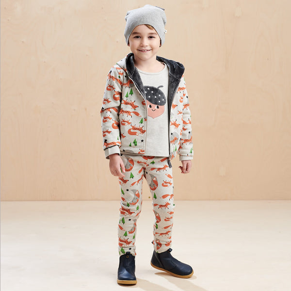 DEER - Kids Hoodie  FOX - The bonniemob