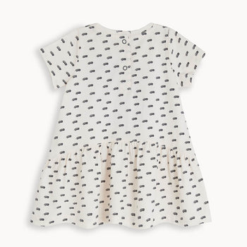 DRIFT - Baby Applique Dress SUNSET - The bonniemob