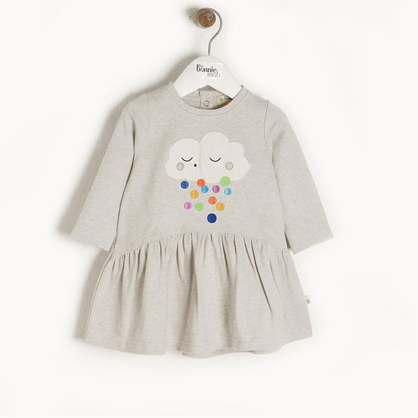 ETOILE - Kids Applique Dress  RAINCLOUD - The bonniemob