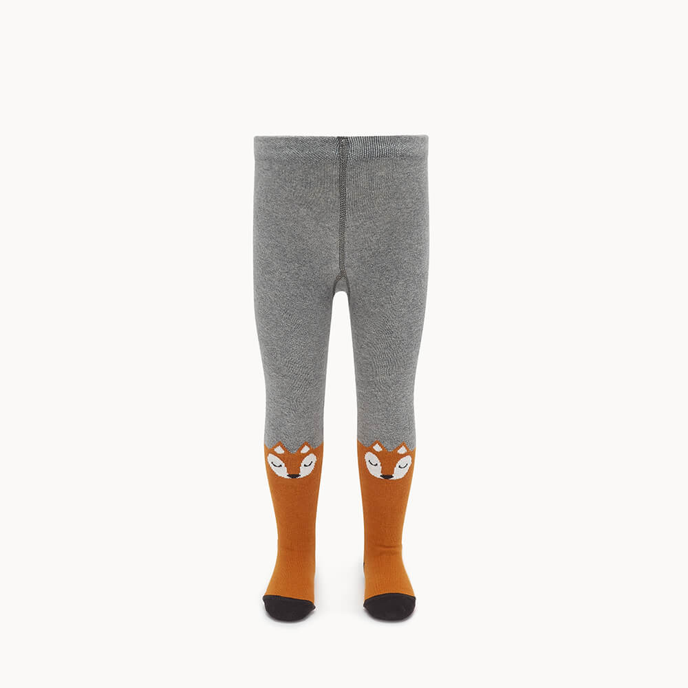 FANTASTIC - Baby Fox Face Tights GINGER - The bonniemob