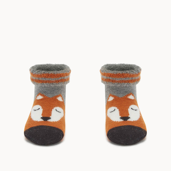 FOXY - Baby Fox Baby Bootie GINGER - The bonniemob