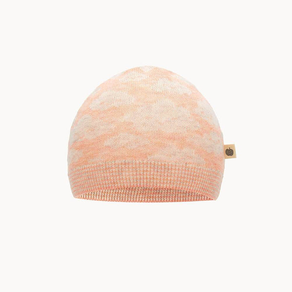 HEAVENLY - Baby Jaquard Hat PEACH