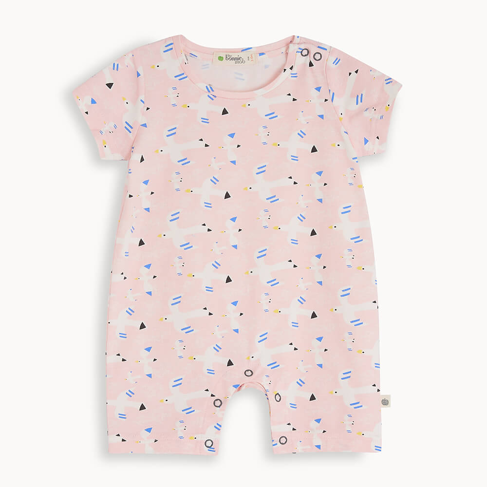 LAGOON - Baby Shorty Playsuit FREE BIRD - The bonniemob