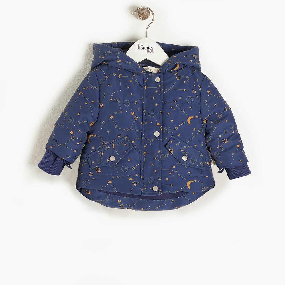 ORBIT - Kids Cosmos Jacket  NAVY - The bonniemob