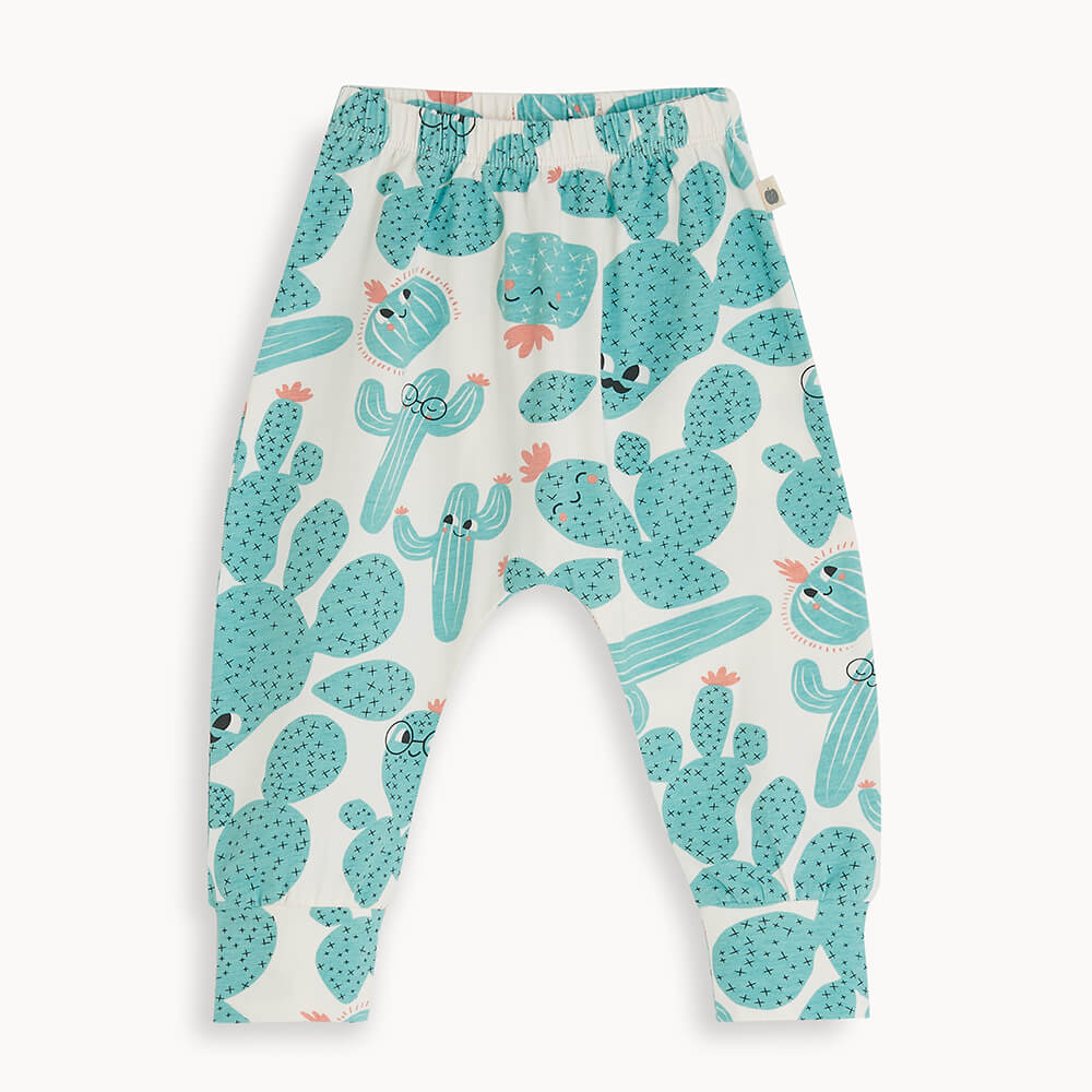 PALM - Kids Hareem Pant CACTUS - The bonniemob