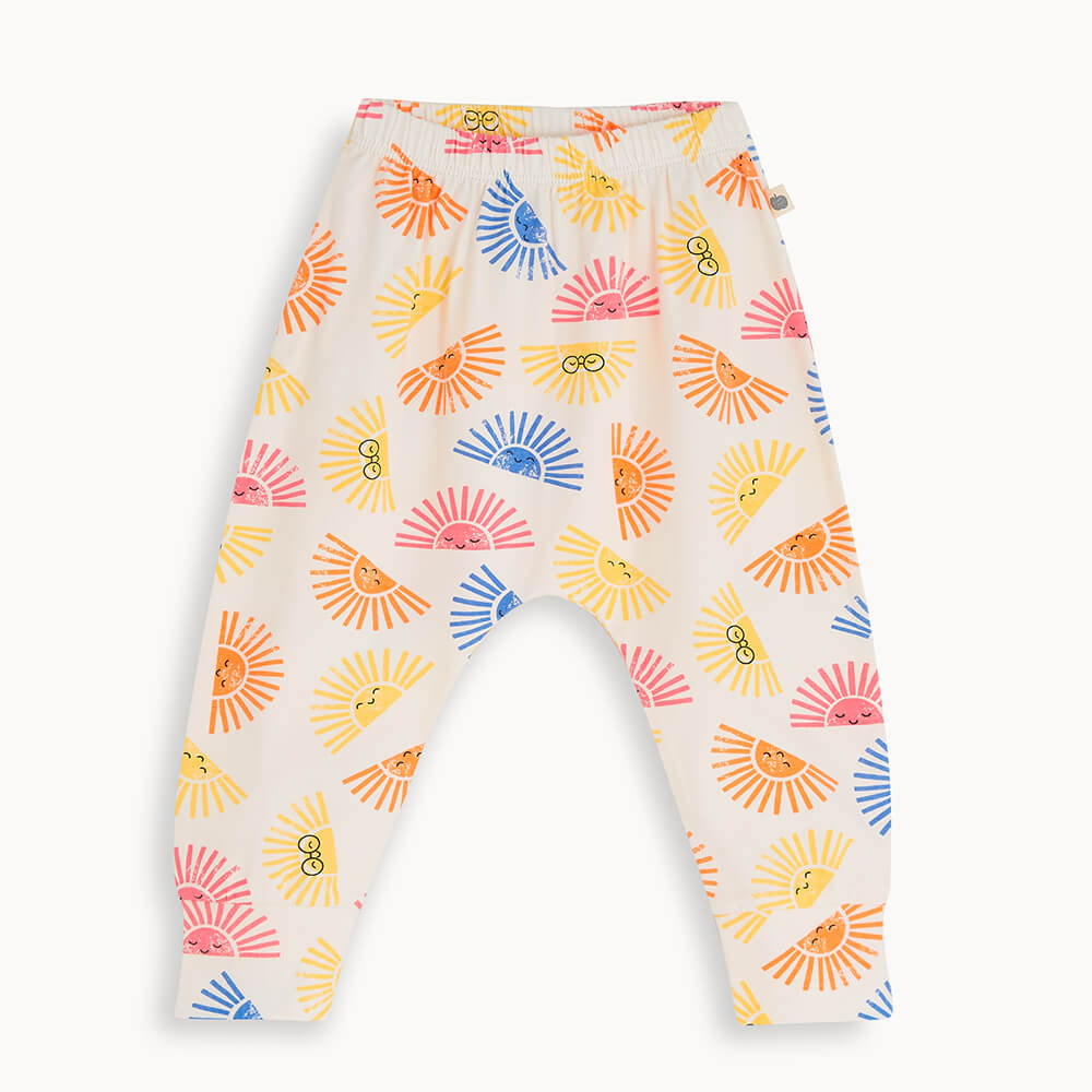PALM - Kids Hareem Pant SUNSHINE - The bonniemob