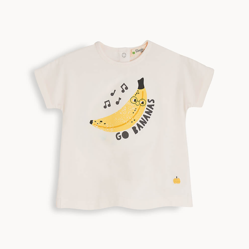 PERCY - Baby T-Shirt BANANA - The bonniemob
