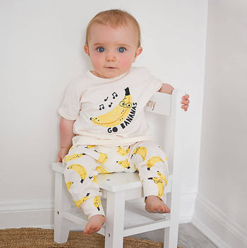 PALM - Baby Hareem Pant BANANA - The bonniemob