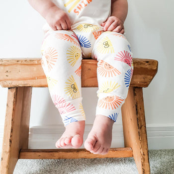 PALM - Baby Hareem Pant SUNSHINE - The bonniemob
