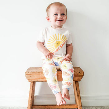 PERCY - Baby T-Shirt SUNSHINE - The bonniemob