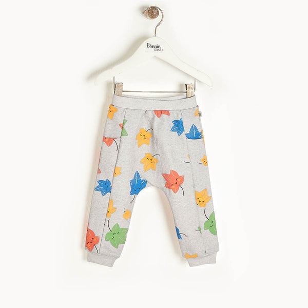 PINE - Kids Jogging Trousers  GREY - The bonniemob