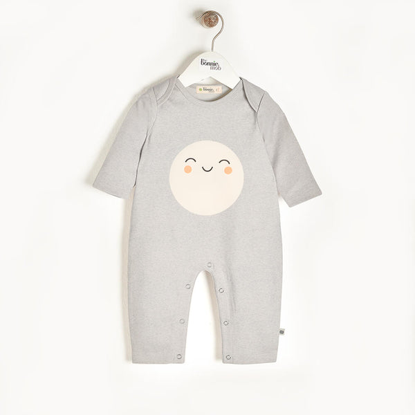 SCOUT - Baby Playsuit GREY - The bonniemob