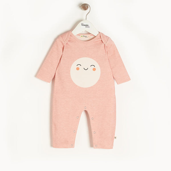 SCOUT - Baby Playsuit PINK - The bonniemob