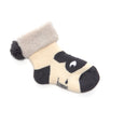 SHELLY - Unisex Baby Bunny Head Booties - Cream