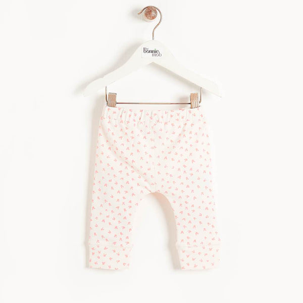 SHIZZLE - Baby Leggings PINK - The bonniemob