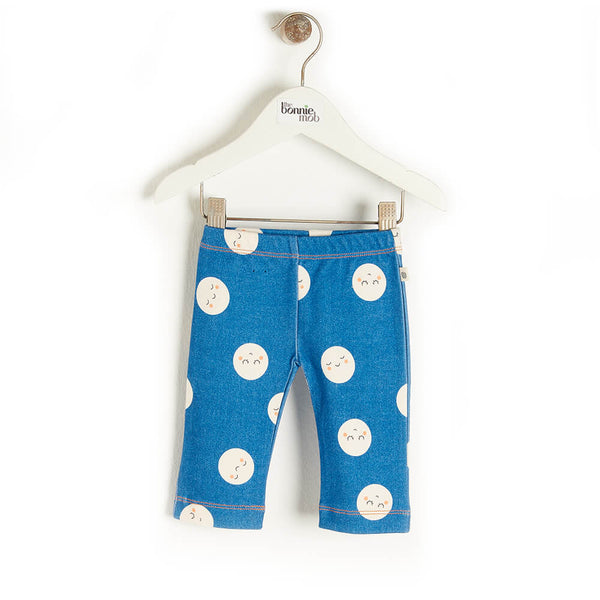 SOLAR - Baby Legging DENIM - The bonniemob