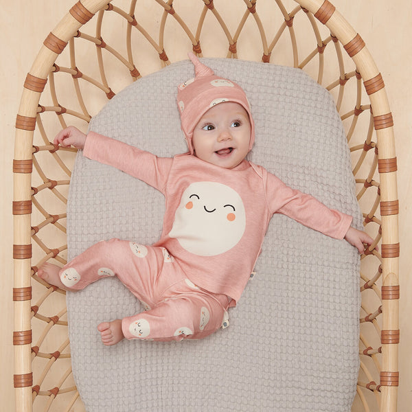 SOLAR - Baby Legging PINK - The bonniemob