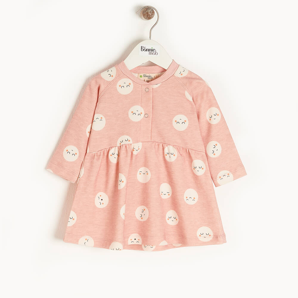 SUPERNOVA - Kids Dress  PINK - The bonniemob
