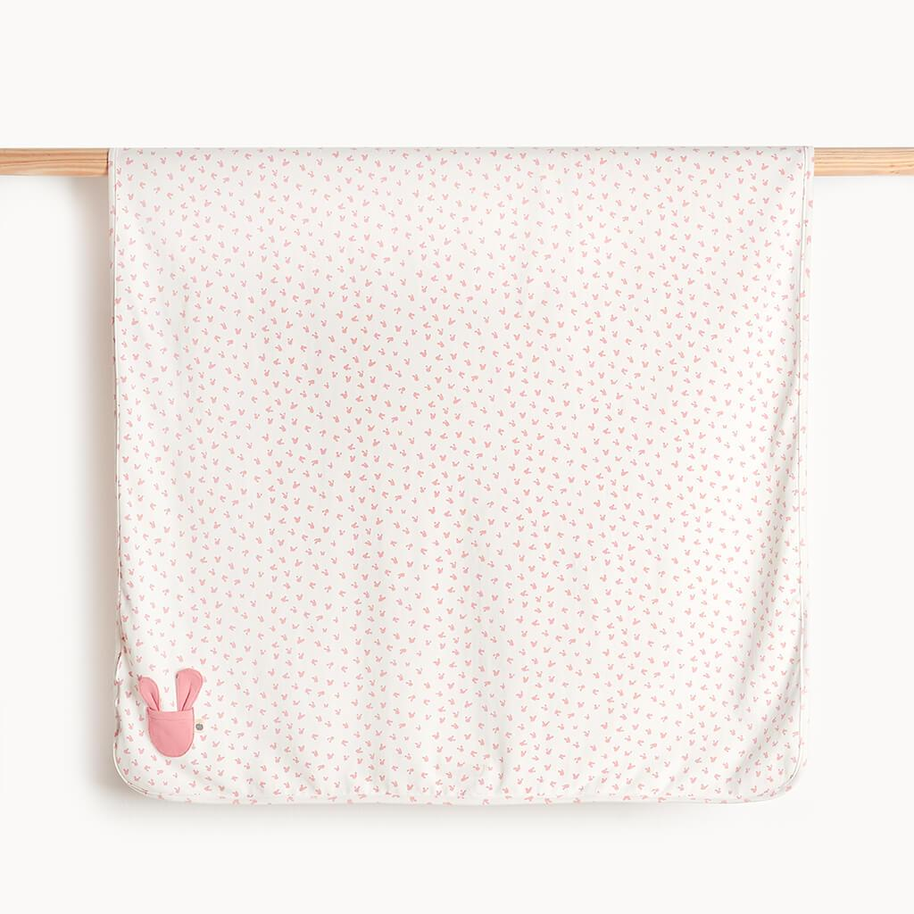SWEETS - Baby Bunnies Blanket PINK - The bonniemob