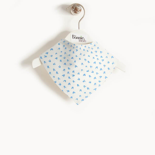 SLURP - Baby Bunnies Dribble Bib BLUE