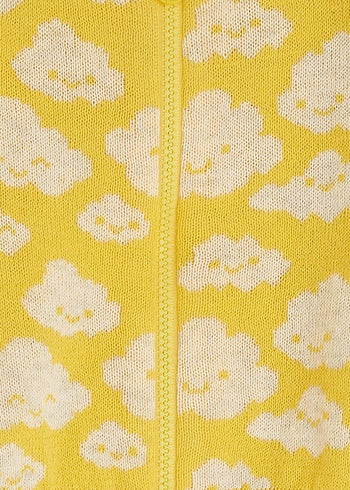 HOCKNEY - Baby Cloud Playsuit YELLOW - The bonniemob
