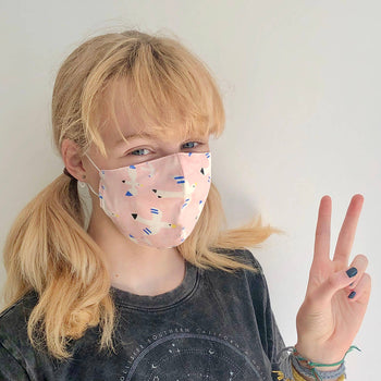 PEEP - Baby Face Mask FREE BIRD - The bonniemob