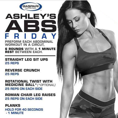 Ashley's Abs Friday