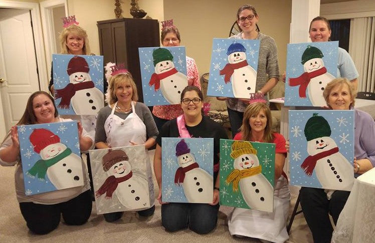Six Reasons to Host a Painting Party
