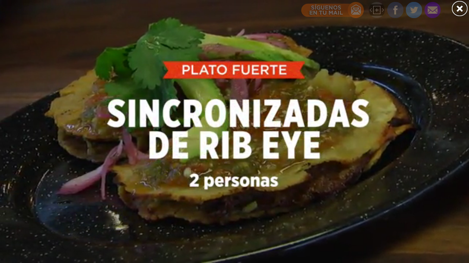 SINCRONIZADA DE RIB EYE | SMP