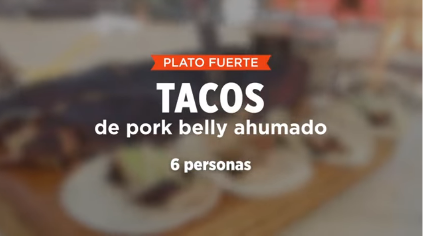 TACOS DE PORK BELLY AHUMADO | SMP