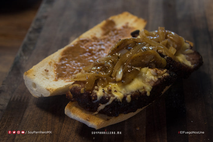 PHILLY CHEESESTEAK SÁNDWICH CON PICAÑA | SMP