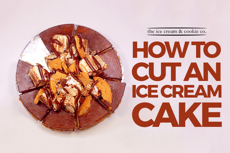 How to Cut an Ice Cream Cake
