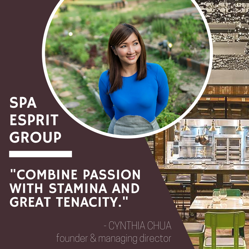 Secrets to Success: Cynthia Chua, Spa Esprit Group