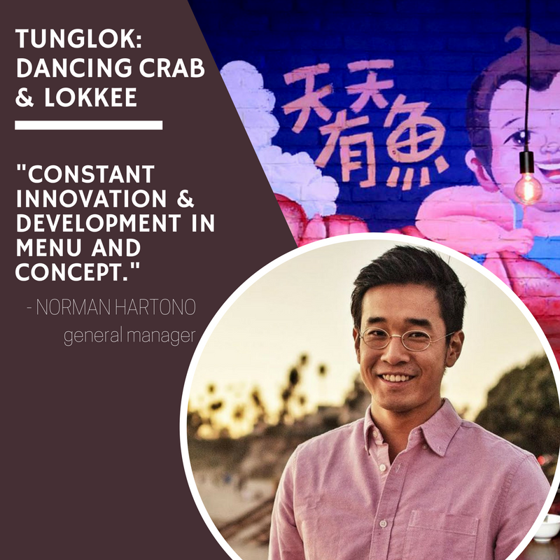 Secrets to Success: Norman Hartono, Dancing Crab & Lokkee