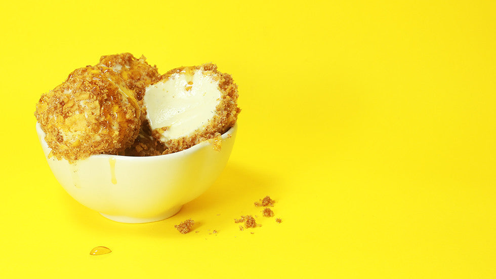 "Recipe: Crunchy ""Fried"" Ice Cream"