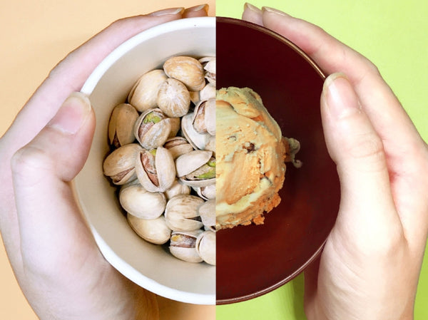 Why isn't our pistachio gelato bright green?